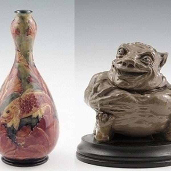 Two World Record Prices for British Pottery Sale Image