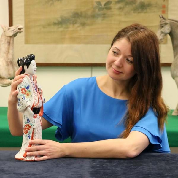 The Rise and Fall of a Kakiemon Bijin Image