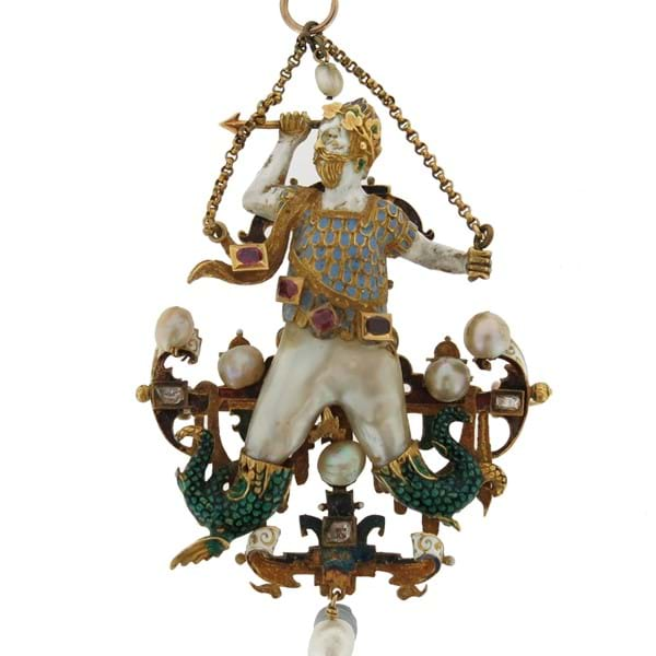 Baroque Pendant with a Chequered Past Image