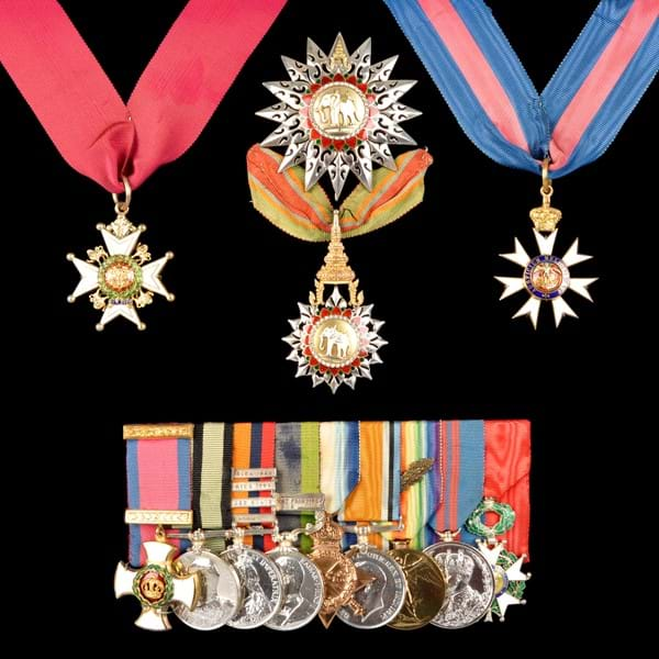 Medals sold at auction for £30,000 Image