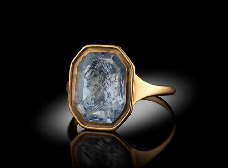 Renaissance Ring Identified as 'Lost' Marlborough Gem Image